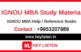 MBA-Study Material