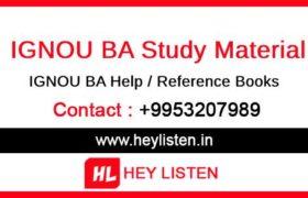 BA-Study-Material