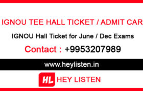 Ignou-Hall-Ticket